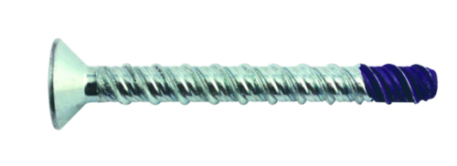 Concrete anchoring screw countersunk type BT Steel Zinc plated
