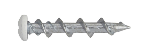 Kotevní šroub s půlkulovou hlavou Ocel Pozinkované white head 5X32MM