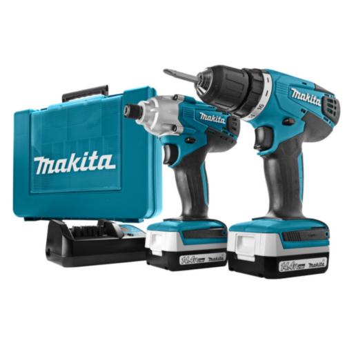 Makita Cordless Combi set 14,4V DK1497