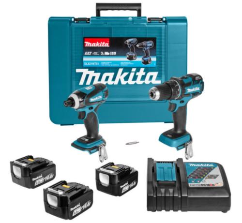 Makita Cordless Combi set 14,4V DLX2116TX1