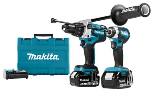 Makita Accu Combi set 18V DLX2174TX1