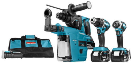 Makita Accu Combi set 18V DLX3106TV1