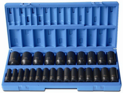 "ACTI IMPACT SOCKET SET 1/2"" 12PT"