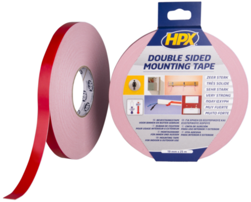 HPX Double coated tape 19MMX25M DS1925