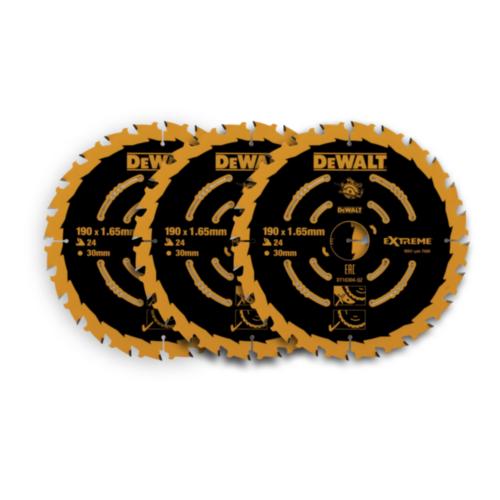 DeWalt Tarcza do piły tarczowej 190x30x24T