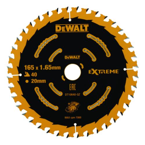 DeWalt Tarcza do piły tarczowej 165x20x40t