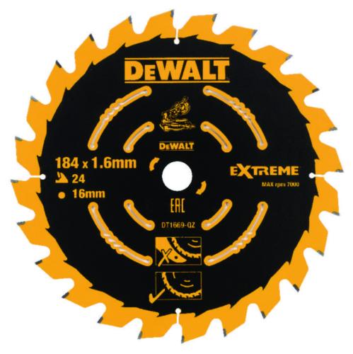 DeWalt Circular saw blade 184x16x24t