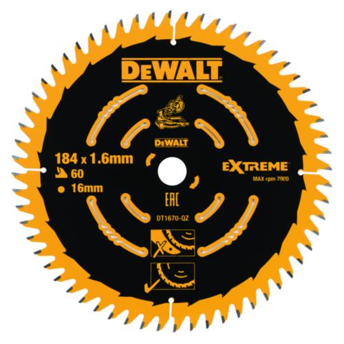 DeWalt Kreissägeblatt 184x16x60t