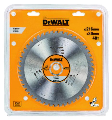 DeWalt Tarcza do piły tarczowej 216x30x48T