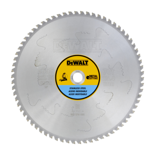 DeWalt Cirkelzaagblad 355x25.4x70T