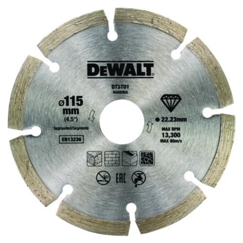 DeWalt Diamantschneidscheibe 115mm 22.2mm