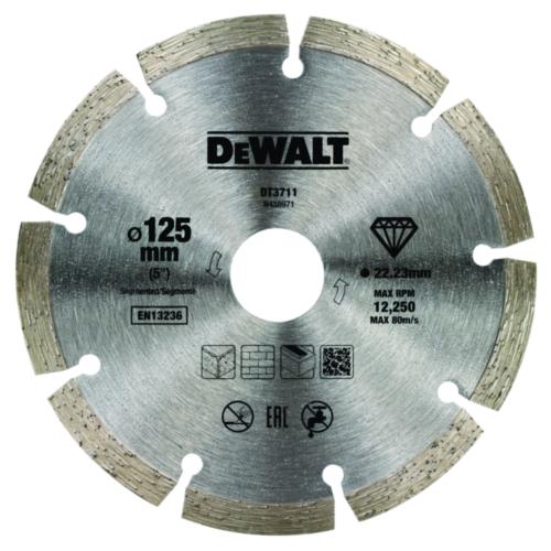 DeWalt Diamantschneidscheibe 125mm/22.2mm