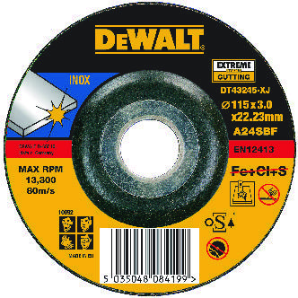 DeWalt Disque à tronçonner 115x3x22,2mm