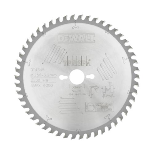 DeWalt Kreissägeblatt 250x30x50t
