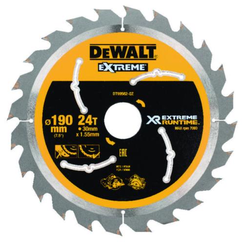 DeWalt Kreissägeblatt 190mmx30mm 24T