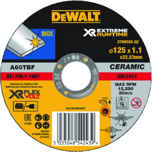 DeWalt Cutting wheel 125mmx1,1mm