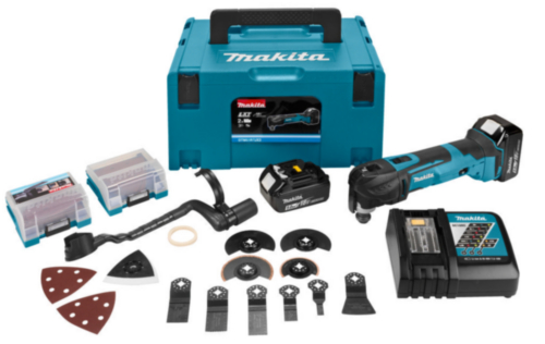 Makita Cordless Multitool 18V DTM51RTJX3