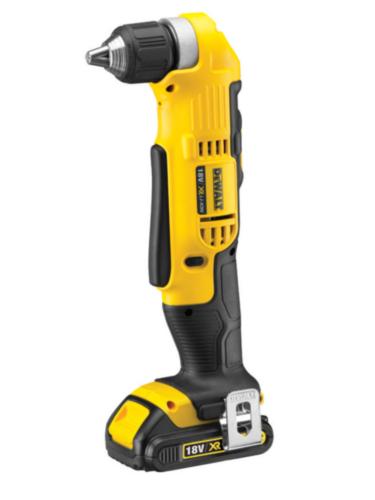DeWalt Cordless Angle drill XR 18V 1x1,5Ah
