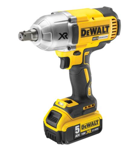 DeWalt Accu Slagmoersleutel 18V XR 2x 5,0Ah