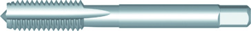 Dormer Taraud à main E111 DIN 2181 HSS Blanc No.6x40