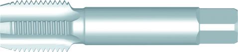 Dormer Macho de roscar de máquina extra largo E243 DIN 40432 N/A HSS Blanco PG7 NO2
