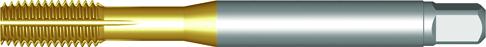 Dormer Strojný závitník E294 DIN 2174 N/A HSSE TiN M16x2.00mm