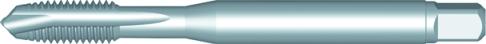 Dormer Machine tap E297 DIN 376 N/A HSSE Chrome plated M14x2.00mm