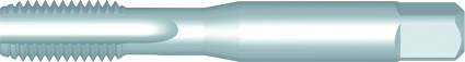 Dormer Machine tap E515 ISO 529 HSS Blanc 9/16x12