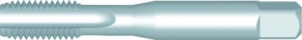Dormer Hand tap center cutter E542 ISO 529 N/A HSS Blanc No.2 NO2
