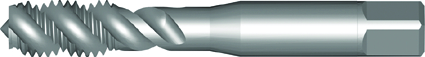 Dormer Taraud machine E544 ISO 529 HSS Blanc Vaporise No.4
