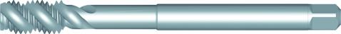Dormer Taraud machine extra long E605 ISO 2283 HSSE Blanc M4x0.70mm