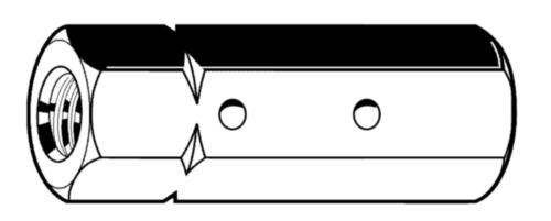 Spanschroefmoeren zeskant