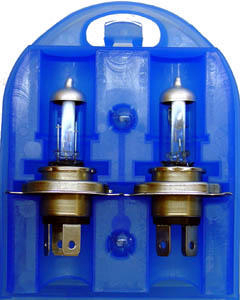 RIPC-1PC-EK12V/H4-CB SPARE BULB SET 12V