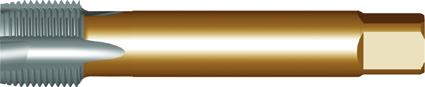 Dormer Machinetap EP40 DIN 5156 HSSE Brass 1/4Inx19