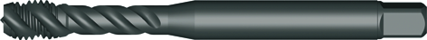 Dormer Machine tap EX016H DIN 371 HSSE M6