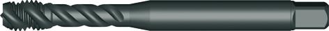 Dormer Machine tap EX31 DIN 2184-1 N/A HSSE Vaporised No.8x36
