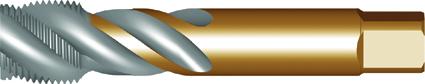 Dormer Gwintownik maszynowy EX40 DIN 5156 HSSE Brass 3/8Inx19