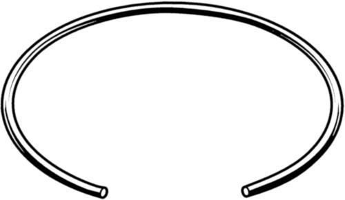 Borgring voor assen DIN 7993 A Verenstaal