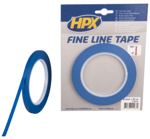 HPX Masking tape 6MMX33M