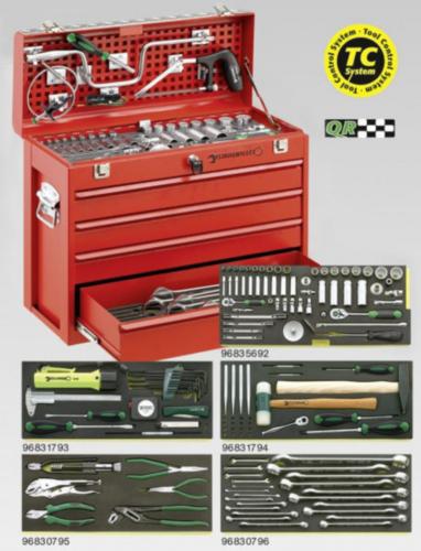 Tool trolley assortments & tool sets
