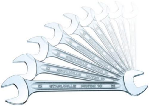 Stahlwille Jeux de clés à fourches doubles 10A/11 10A/11