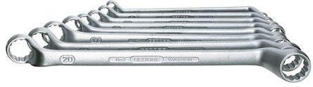 Gedore Double ended ring spanner sets 2-8 2-8
