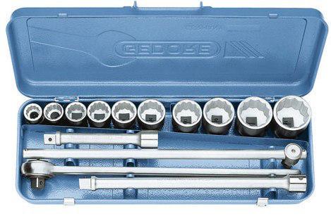 Gedore Steckschlüsseleinsatz-Sets D 32 EMU-2 D32 EMU-2