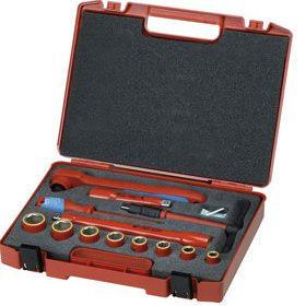 Gedore Steckschlüsseleinsatz-Sets VDE 1001 VDE 1001