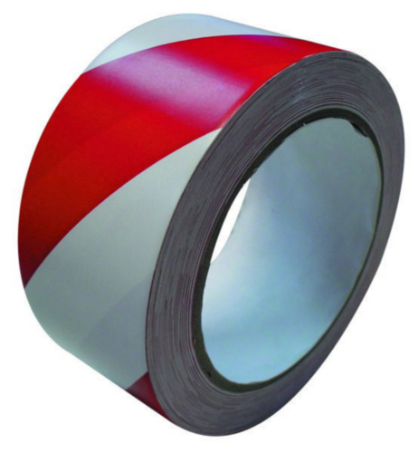Barrier tape Red/White 80MMX500MTR WHITE/RED