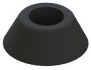 Protective buffer Plastic Polyvinylchloride 20MM