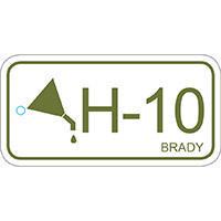 Brady Energy source tag hydraulic 10 25PC