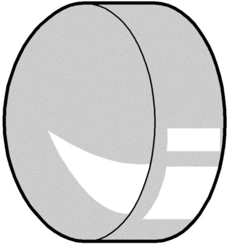 Krytka (příchytná) Plast Nylon (polyamid) pro samořezné šrouby Phillips
