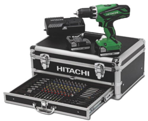 Hitachi Power tool deals DS14DJL SET