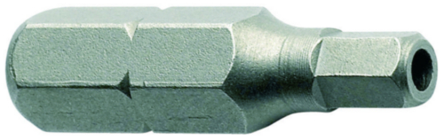 SECURITY Bit for screws with hexagon socket with pin, 25mm Stal 4MM